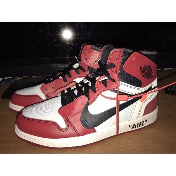 get cheap 90aba 6fc15 Off white air Jordan ones NWT